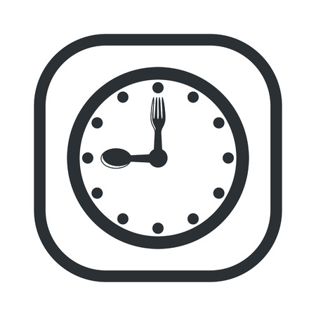 dinner party: Vector illustration of food icon
