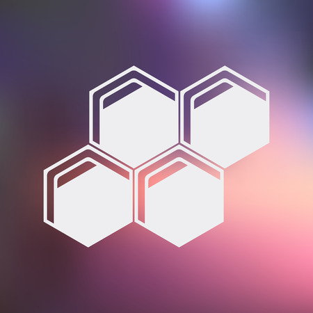 honeycomb: vector illustration of honeycomb Illustration