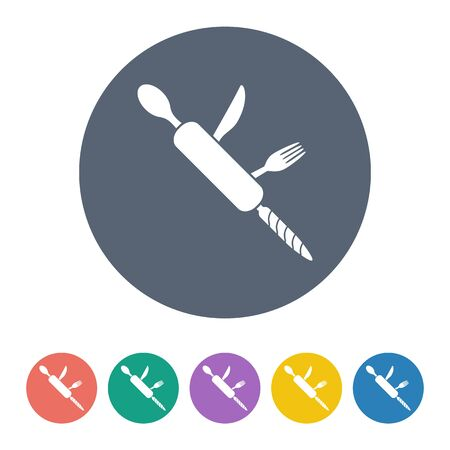 conceal: Vector illustration of food icon