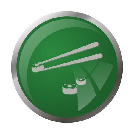 salmon dinner: Vector illustration of food icon