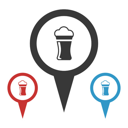 draughts: Vector illustration of food icon