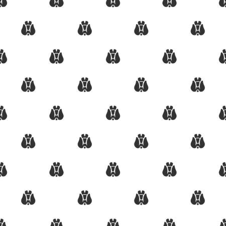 lack: illustration of modern b lack icon thyroid