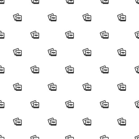 patella: illustration of modern b lack icon bone Illustration