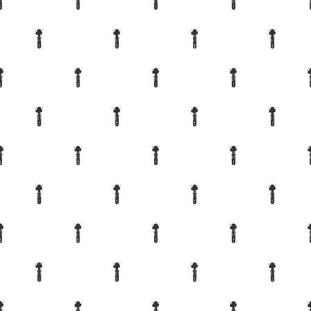 lack: illustration of modern b lack icon test-tube