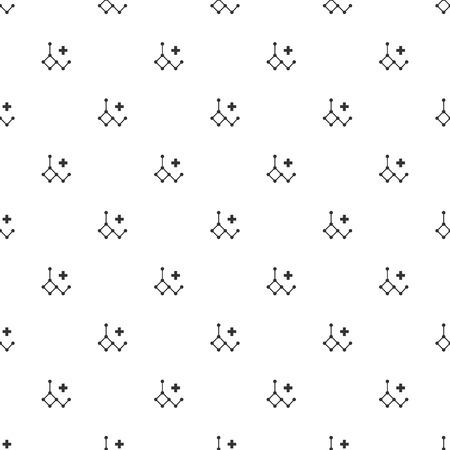 acido: ilustración de ácido moderna b falta icono desoxirribonucleico