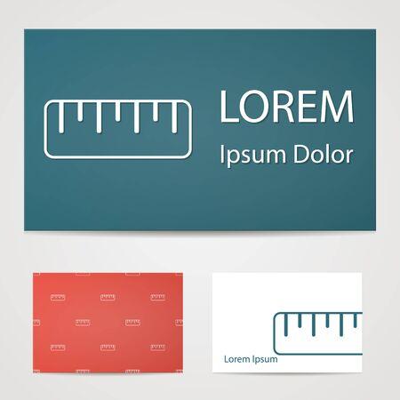 draftsmanship: illustration of office modern icon in design