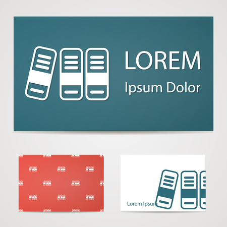 noticeable: illustration of office modern icon in design