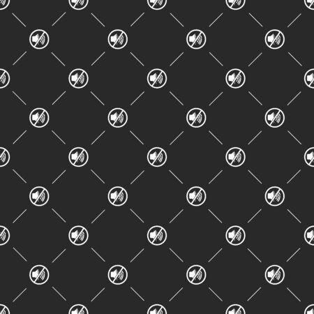 lack: illustration of modern b lack icon volume