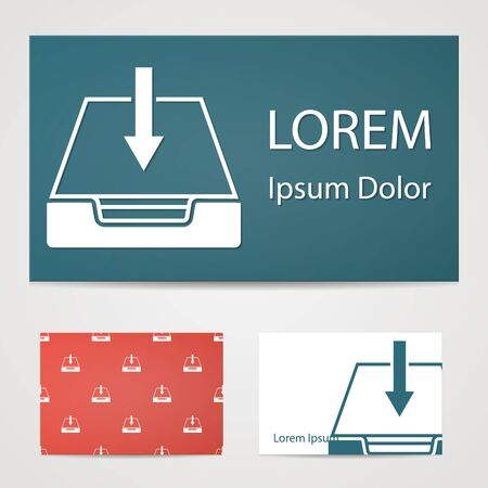 lack: illustration of modern b lack icon download Illustration
