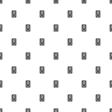 subwoofer: illustrazione della moderna b icona mancanza subwoofer Vettoriali