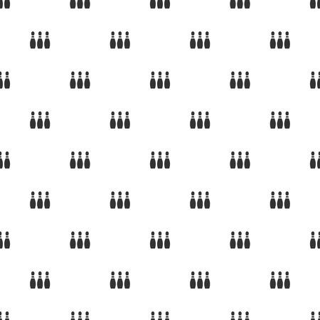 quilles: illustration vectorielle d'ic�nes commerciales et financi�res quilles