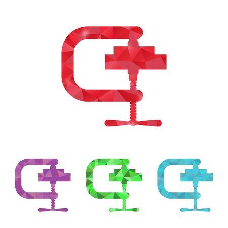 vise: illustration of vector building modern icon in design Illustration