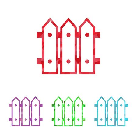 bucolic: illustration of vector building modern icon in design Illustration