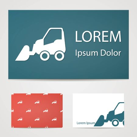 movers: illustration of vector building modern icon in design Illustration
