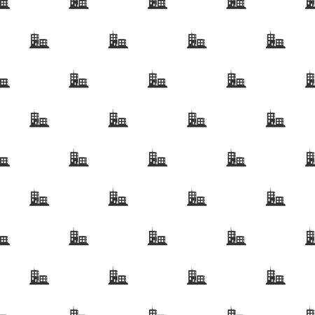 skid steer: illustration of vector building modern icon in design Illustration