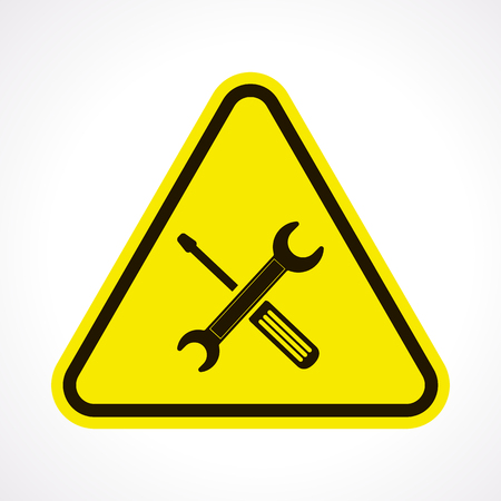 work tools: vector illustration of business and finance icon repair Illustration
