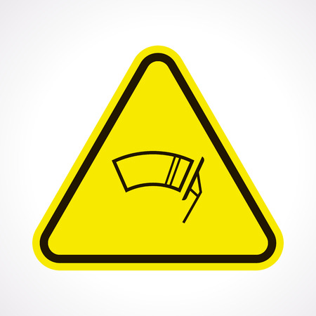 wiper: Vector illustration of modern auto repair icon