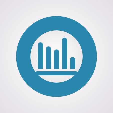increment: vector illustration of business and finance icon graph