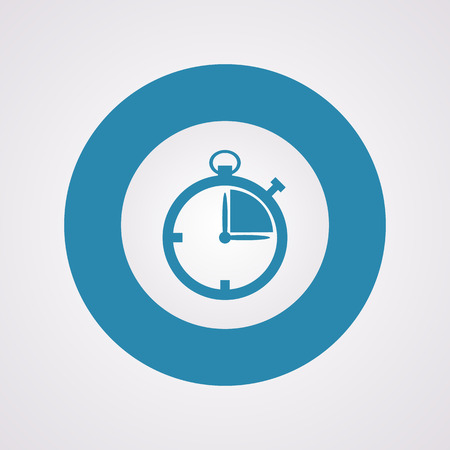 stopwatch: illustration of business and finance icon stopwatch