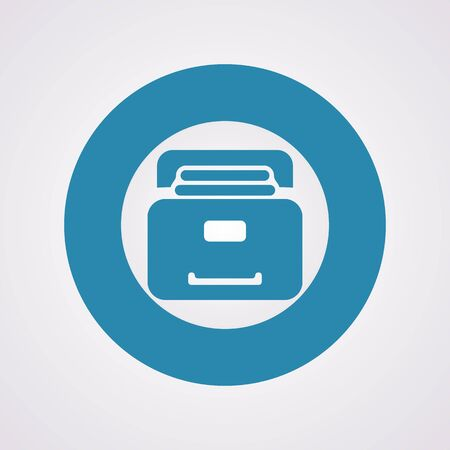search box: illustration of vector office modern icon in design