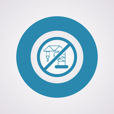 hook up: illustration of vector building modern icon in design Illustration
