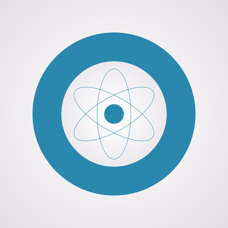 atomic nucleus: vector illustration of business and finance icon atom Illustration