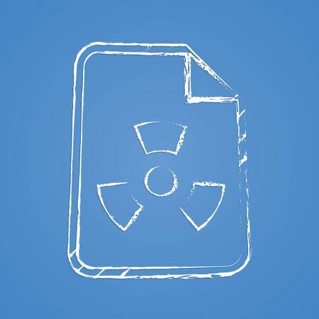 robberies: vector illustration of modern b lack icon virus