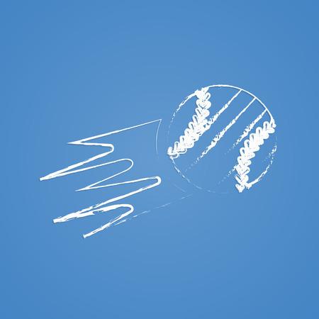 sphere base: vector illustration of business and finance icon baseball Illustration