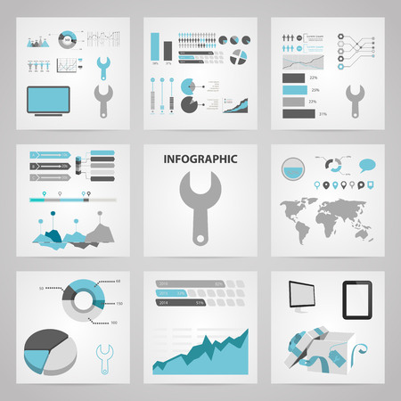 illustration of vector building modern icon in design Stock Vector - 45864669