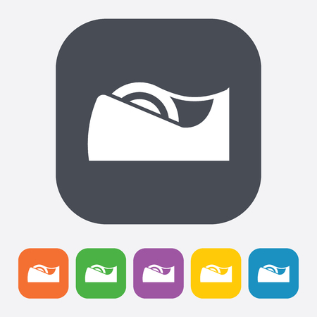 clerical: illustration of vector office modern icon in design