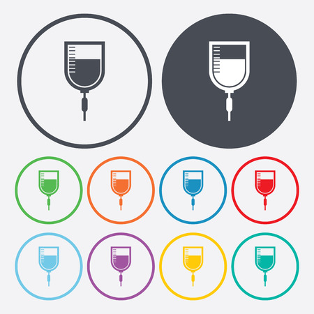 diabetes syringe: vector illustration of modern b lack icon syringe