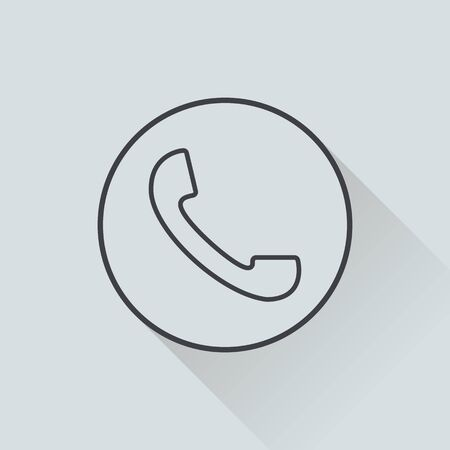 corporations: illustration of business and finance icon phone Illustration