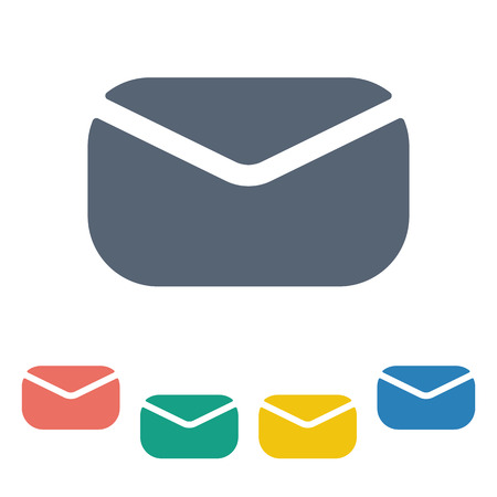 spamming: illustration of business and finance icon sms