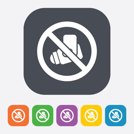 monitored area: vector illustration of modern b lack icon camera