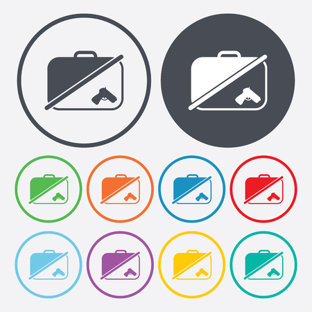 depart: vector illustration of modern b lack icon detector Illustration