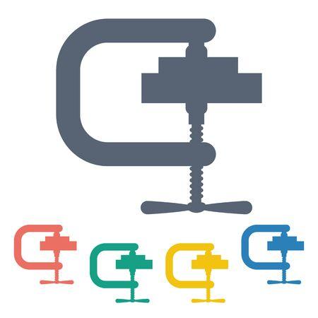 Illustration der Vektor-Aufbau moderner Symbol in Design