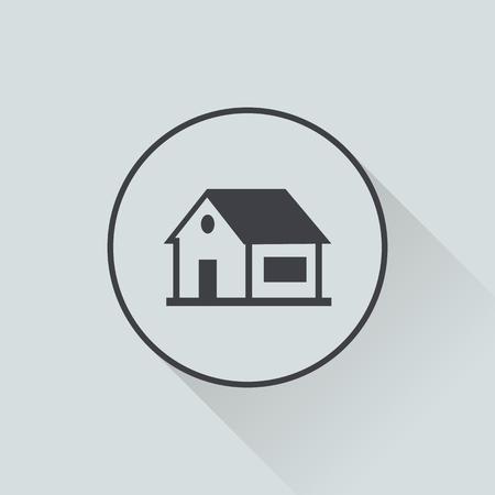 skid: illustration of vector building modern icon in design Illustration