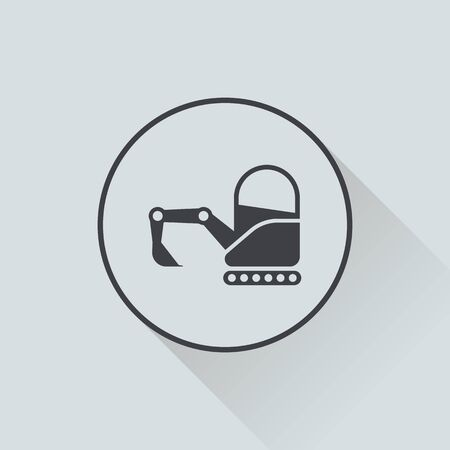 mini loader: illustration of vector building modern icon in design Illustration