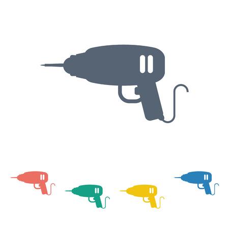 cordless: illustration of vector building modern icon in design Illustration