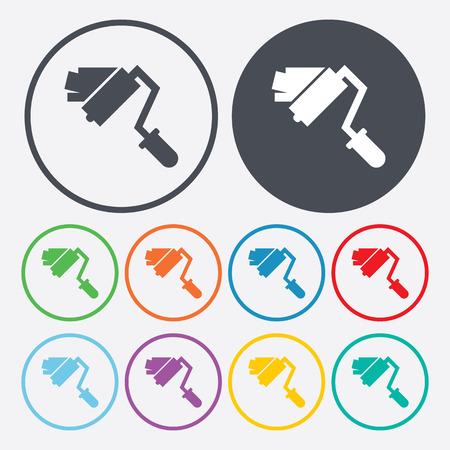 builder logo: illustration of vector building modern icon in design Illustration