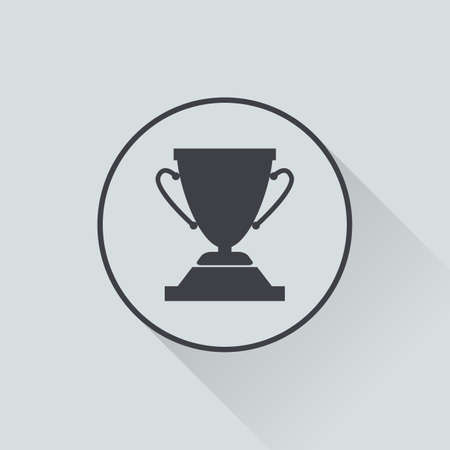 trophy: illustration of business and finance icon trophy Illustration