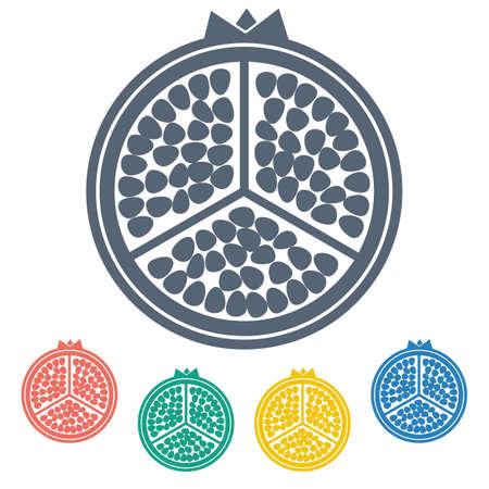 garnet: illustration of business and finance icon garnet