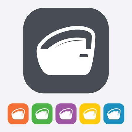 lift lock: Vector illustration of modern auto repair icon