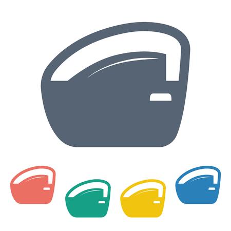 bodywork: Vector illustration of modern auto repair icon
