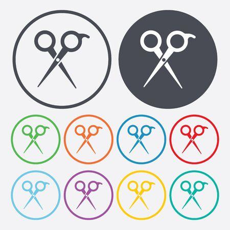 Illustration vectorielle d'icônes de beauté et de mode