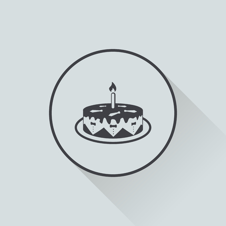 fine cuisine: Vector illustration of food icon