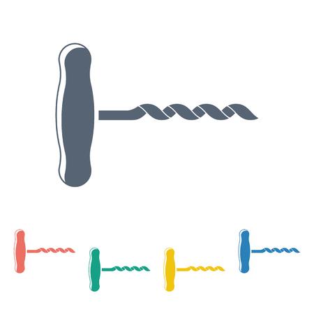 corcho: Ilustración del vector del icono de los alimentos Vectores