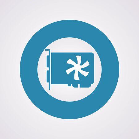 psu: vector illustration of computer technology modern icon