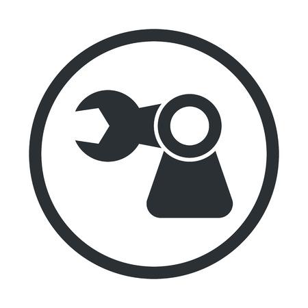 コンピューター技術現代のアイコンのベクトル イラスト  イラスト・ベクター素材