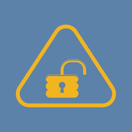secret codes: vector illustration of computer technology modern icon